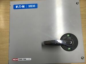 Eaton MEM 125a Single Phaae Switch Disconnector ONLY ONE AVALIABLE