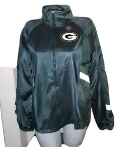 Green Bay Packers Pullover Jacket Mighty MAC Sports Youth XL(20) New