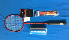 New LiNing Badminton Racket A880T Carbon Graphite + Shuttlecocks & Wrist Band