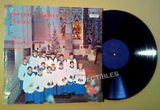 LP Album~ Boys CHOIR OF LEEDS PARRISH CHURCH ~Popular Christmas Carols~17 Tracks