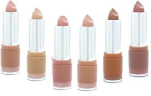 w7 Fashion Lipstick THE NUDES Nude Naked Pale Pink Brown Lip Colour Make Up