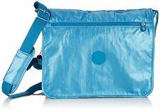 Borsa Kipling AZENYA A4 cartella scuola Metallic Blue