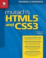 Murach's HTML5 and CSS3 by Zak Ruvalcaba; Anne Boehm