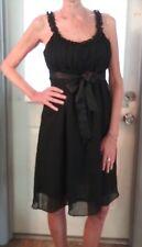 Little Black Sleeveless Dress by Motherhood Maternity empire waist Size M