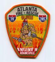 Atlanta Fire Rescue Department Engine 9 Patch Georgia GA
