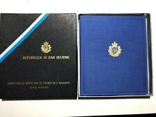 1992 RSM San Marino Folder Album Libro Celebrazioni Colombiane Colombo + Box