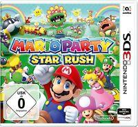 Nintendo 3DS Spiel - Mario Party: Star Rush mit OVP