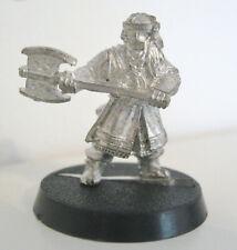 Warhammer LOTR Lord Of The Rings Metal Miniature Model Figure GIMLI the Dwarf