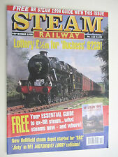 STEAM RAILWAY Issue. 222. Sept 1998. British Steam Railways Magazine.