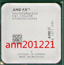 1PC AMD CPU FX Series FX-4100 Quad Core CPU 3.6GHz Socket AM3+ FD4100WMW4KGU