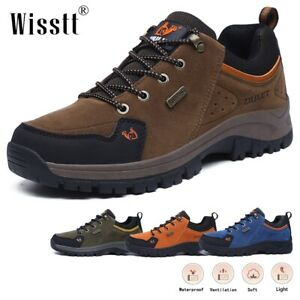 Mens Trails Boots Hiking Trekking Sports Workout Feetwear Sneakers Outdoor Shoes