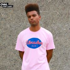 Thrasher Magazine Oval Logo T Shirt Pink Men's Size Small