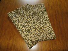 Ralph Lauren ARAGON Leopard Guinevere Galahad 2 Standard Size Pillowcases New!