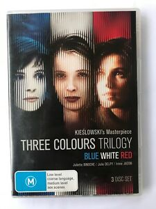 The Three Colours Trilogy - Blue/White/Red - 3 DVD set (R4 + R2)