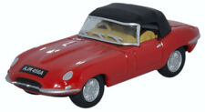 Oxford 76ETYP011 Jaguar E Type Closed Convertible Red 1/76 New in Case -T48 Post