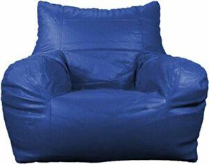 Arm Chair Bean Bag Cover Leatherette L-XXXL Size Without Beans