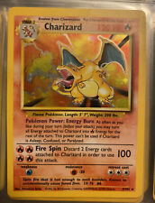 Pokemon Charizard Holo Base Set 4/102 (psa 7??) Very Rare Good Condition