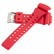 Hadley-Roma 16mm Red Men's Matte Finished Dive Watch Band Strap MS3220