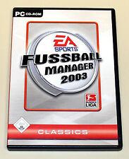 FIFA Calcio manager 2003-GIOCO PC-EA Sports Classics