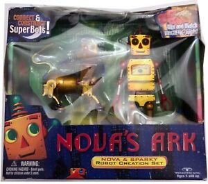 Nova's Ark  Nova & Sparky Deluxe Robot Creation Set. 1999 NEW