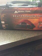 Ozark Trail 9 x 7 Backpacking Tent sleeps 4 new