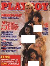 Dutch Playboy Magazine 1988-05 Brandi Brandt, Tatjan Simic ...