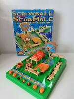 Vintage Game From Tomy Active - Screwball Scramble Missing Monkey Hoop & Ball