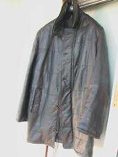 BRANDT made in Finnland - caban cuir de renne echt Elchleder Elk Leather 54<>56