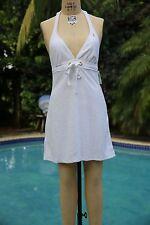 Ralph Lauren Women's White Dress Sundress Swimwear Swimsuit Coverup Size Large
