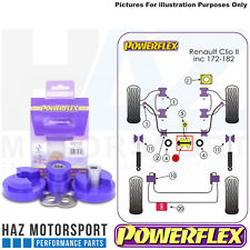 Renault Clio 172 182 + Cup Powerflex Dogbone Twisted Engine Mount Bush Kit
