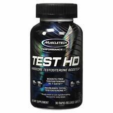 MuscleTech TEST HD Hardcore Testosterone Booster 90 Caps TESTHD NEW