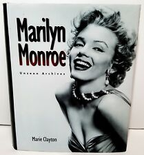 Marilyn Monroe Unseen Archives hardcover book by Marie Clayton