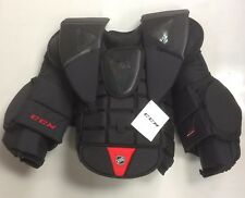 New CCM AB Pro Stock chest/arm protector size Sr large senior ice hockey goalie