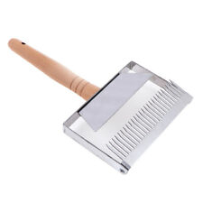 Stainless Steel Widen Bee Hive Uncapping Honey Fork Scraper Shovel ToDD