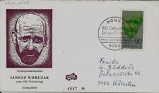 """BRD FDC MiNr 973 (1Ga) """"100. Geburtstag von Dr. Janusz Korczak"""" -Arzt-Medizin-"""