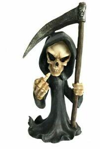 "Gothic Cursing Grim Reaper ""Don't Fear the Reaper"" Ornament Figurine"