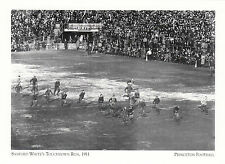 (19027) Postcard - Princeton Football - Sanford Whites Touchdown - Modern card