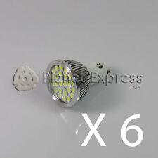 6x Glühbirne 24 LED SMD 5050 GU10 Weiß Kalt 220V Unter Verbrauch! Gleichwertig