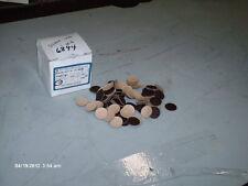 """Merit Abrasives Shur Stik Discs P/N 71119 3/4"""" 100 Grit Box of 100 (NIB)"""