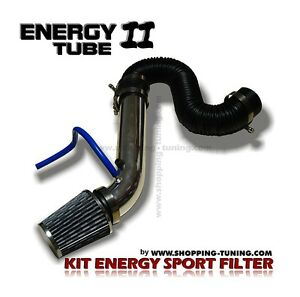 KIT D'ADMISSION DIRECTE SPORT FILTRE A AIR TUBE INOX VW NEW BEETLE POLO EOS