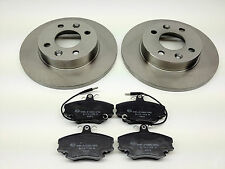 RENAULT CLIO 1.2 1.4 FRONT BRAKE DISCS AND PADS 1994-2004