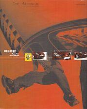 Renault clio extreme édition limitée 2003 uk market sales brochure 1.2 dci 65 80