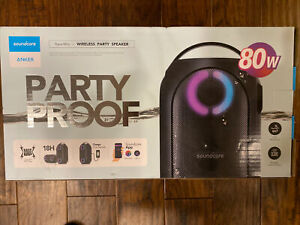 Anker soundcore AK-A3390Z11 Rave Mini Portable Party Speaker, Huge 80W Sound LN™