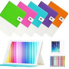 Hybrid Folio Leather Smart Case Cover Stand Wake/Sleep for Apple iPad 2 3 4 Gen