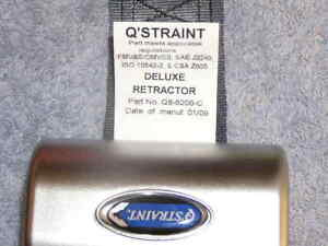 Q'Straint RV Van Bus Wheelchair Scooter Restraint Tie Down Hook Q8-6200-C