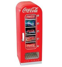 Coca Cola Retro Vending Machine Nostalgia Can Car Boat Home Office Mini Fridge