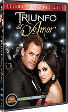 TRIUNFO DEL AMOR - TELENOVELA -3 DVDS -  BRAND NEW - LATIN ***