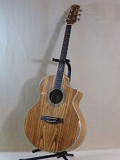 Ibanez EW20ZWENT Zebra Wood Acoustic Electric Guitar,Exotic Wood Series,CutAway