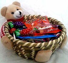 De Lujo Retro Dulce Regalo para Niña amigo cesta Cesto día de San Valentín Cumpleaños Candy
