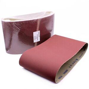 Schleifbänder 200x750mm Fußbodenschleifmaschine Gewebe Schleifband Bänder 80 120